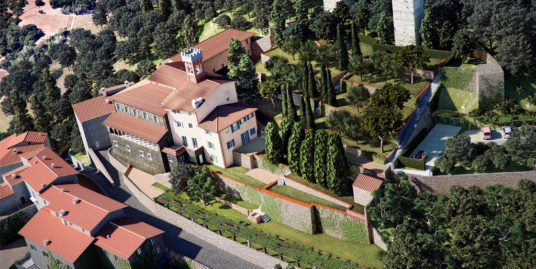 Monastero del Castello – Pistoia, Toscana – Concetta Relli Luxury Real Estate